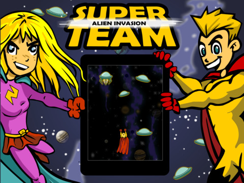 Alien Invasion Super Team by Top Best Fun Cool Games screenshot 6