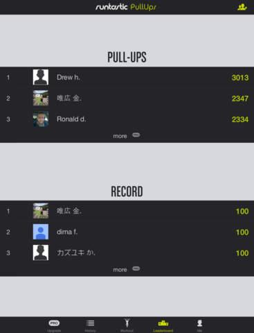 Pull-Ups Workouts & Trainer screenshot 9
