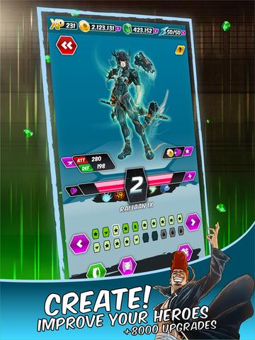 Dengen Chronicles Trading & Collectible Card Game screenshot 8