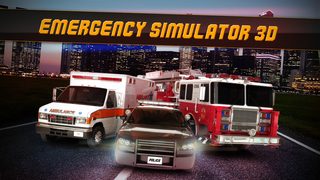 Emergency Simulator 3D - Real Driving and Parking Test Sim - Drive and Park Ambulance, Fire Truck and Police Car screenshot 1