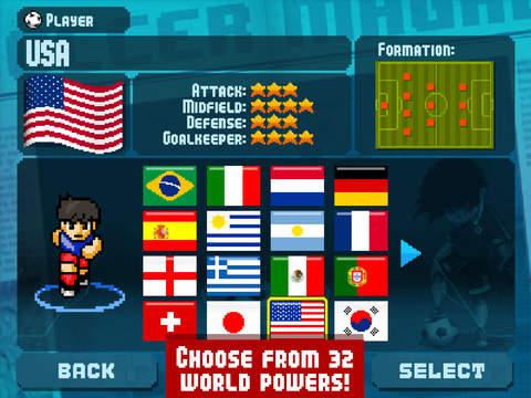 Pixel Cup Soccer screenshot 8
