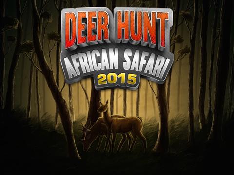 Deer Hunt African Safari 2015 screenshot 6