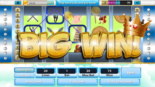 Greek God Casino of Acropolis Riches (777 Lucky Slots)  - Free Slot Machine Game screenshot 2