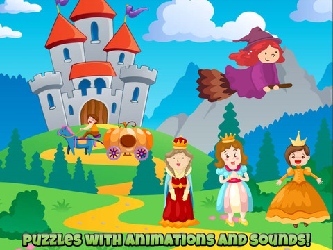 Fairytale Puzzles For Kids screenshot 6