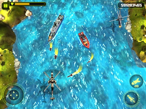 Gunship Helicopter Battle 3D screenshot 8