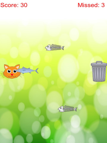 Distinguish Food And Rubbish: Feed Cute Cat With Fish screenshot 6