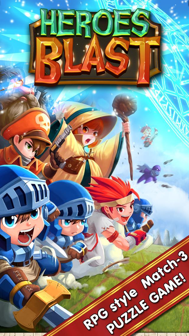 Heroes Blast screenshot 1