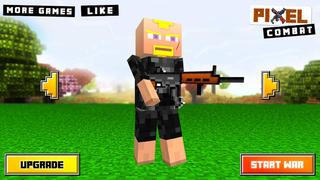 Pixel Combat : 3D Block Wars screenshot 1