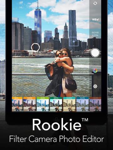 Rookie Cam - Photo Editor screenshot 6