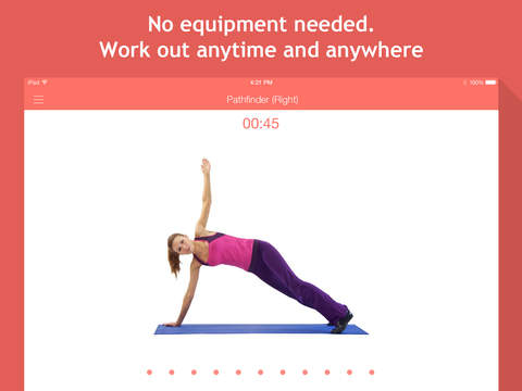 7 minute workouts: bodyweight training & high intensity exercises screenshot #2