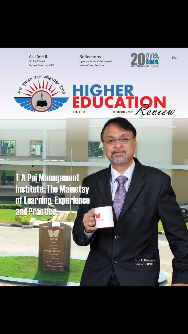 Higher Education Review screenshot 1