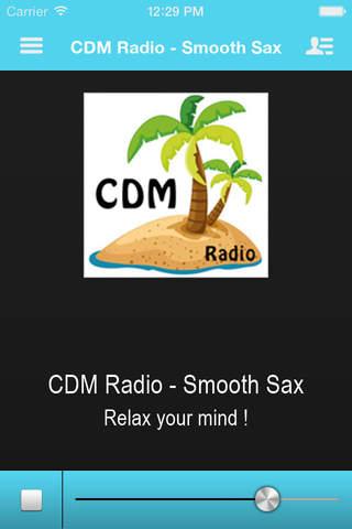 CDM Radio - Smooth Sax - náhled