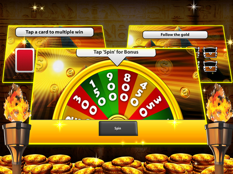 Arcade Slots of Pharaoh Egypt Casino Free screenshot 6