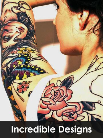 Tattoo Designs Catalog with 100+ body tattoos Idea screenshot 7