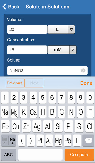 Wolfram General Chemistry Course Assistant screenshot 3