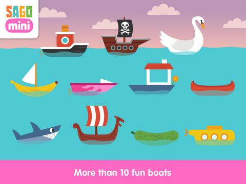 Sago Mini Boats screenshot 7