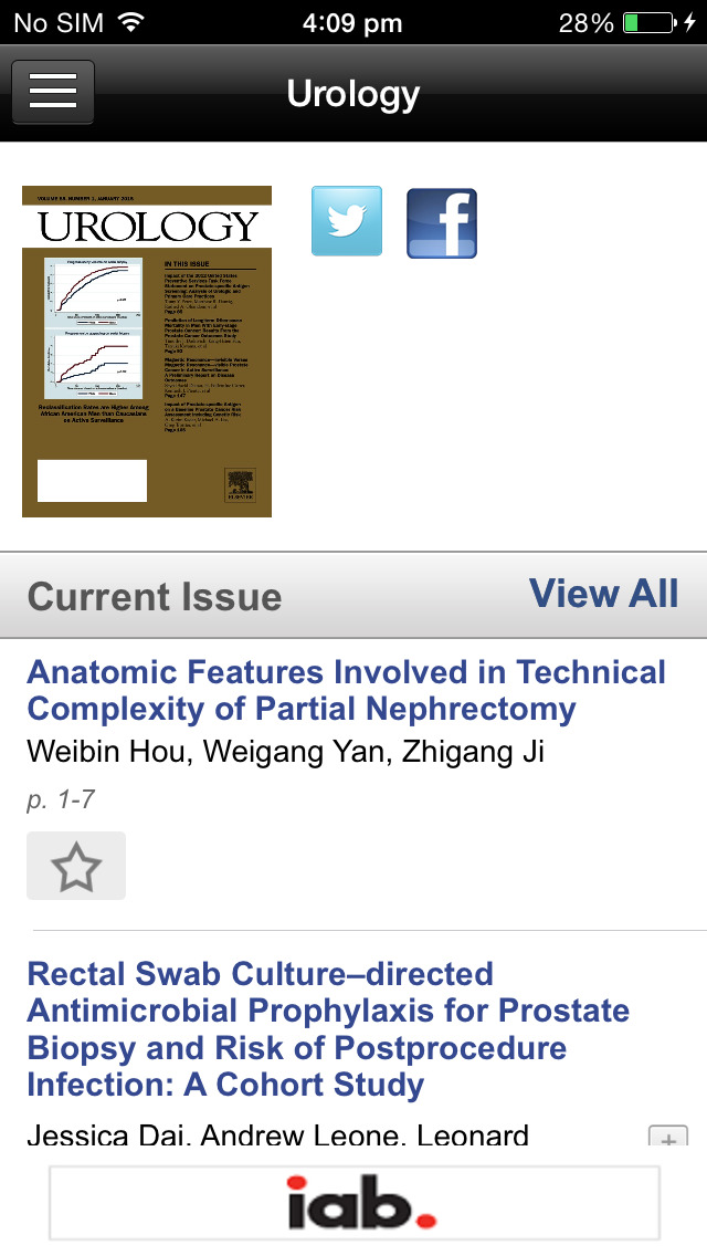 Urology, the Gold Journal screenshot 3