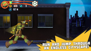 Teenage Mutant Ninja Turtles: Rooftop Run screenshot 1