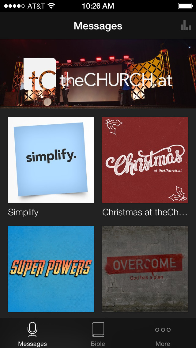 theChurch.at screenshot 1
