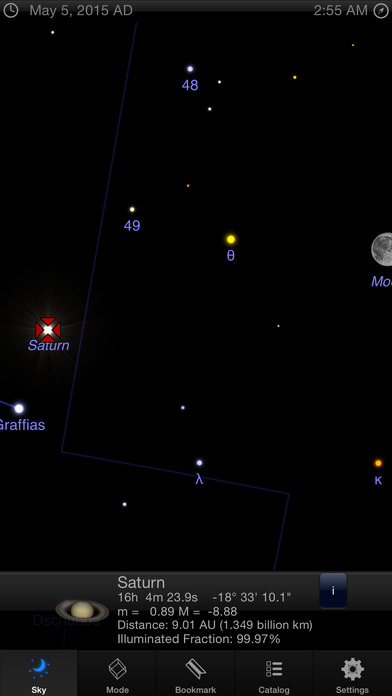 best astronomy app for iphone starmap 3d stargazing and astronomy screenshot 8032