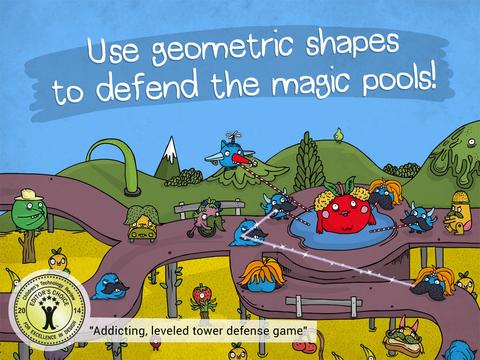 The Land of Venn - Geometric Defense screenshot 6