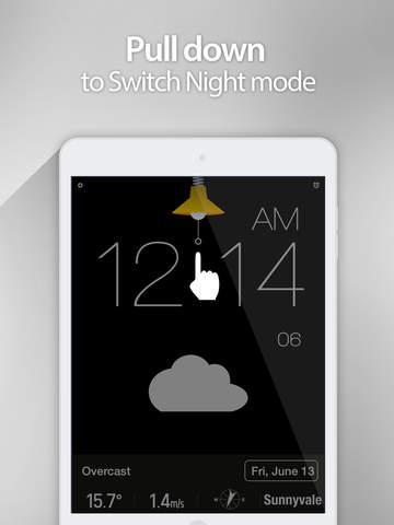 Red Clock - Weather & Alarm screenshot 10