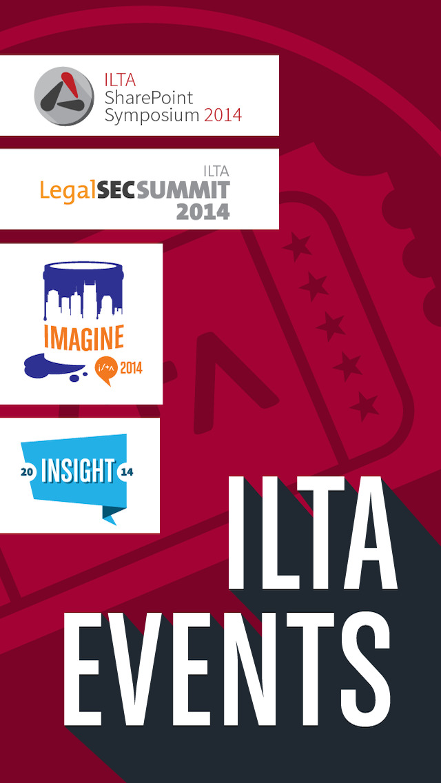 ILTA Events for 2014 screenshot 1