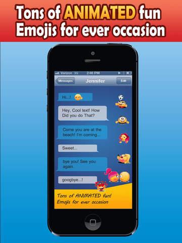 Pimp My Emoji 2015 - Send Animated Messages screenshot 9