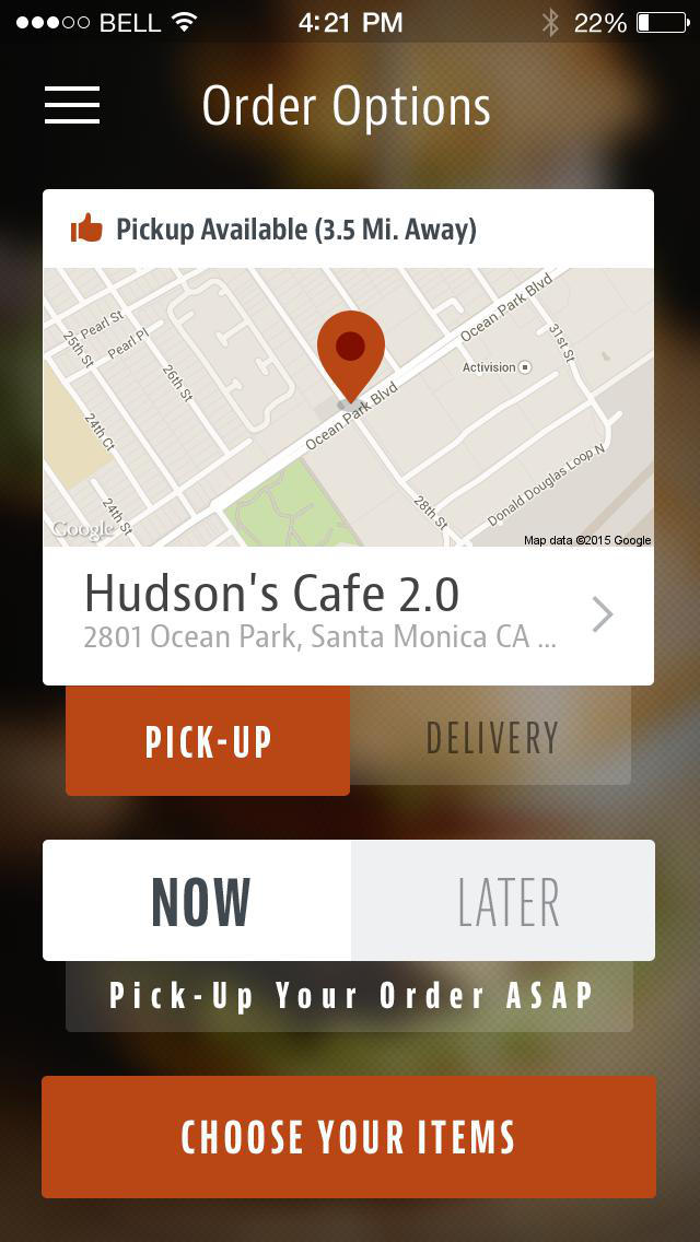 Hudson's Cafe screenshot 2