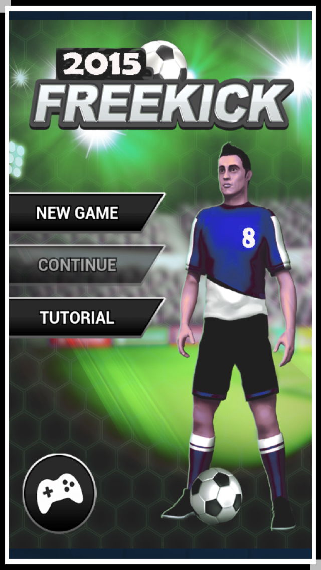 3D World Soccer Free Kick screenshot 5