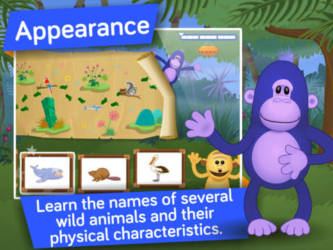 Animals ! Life science educational and learning games for kids in Preschool and Kindergarten by i Learn With screenshot 7