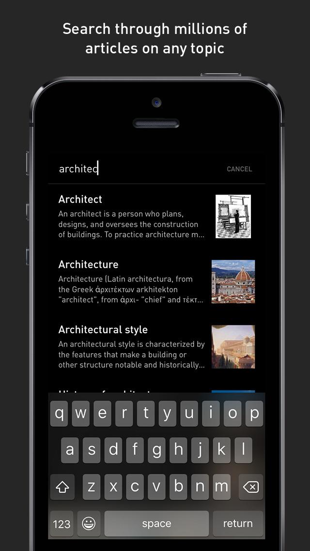 Inquire — Wikipedia Around You screenshot 5