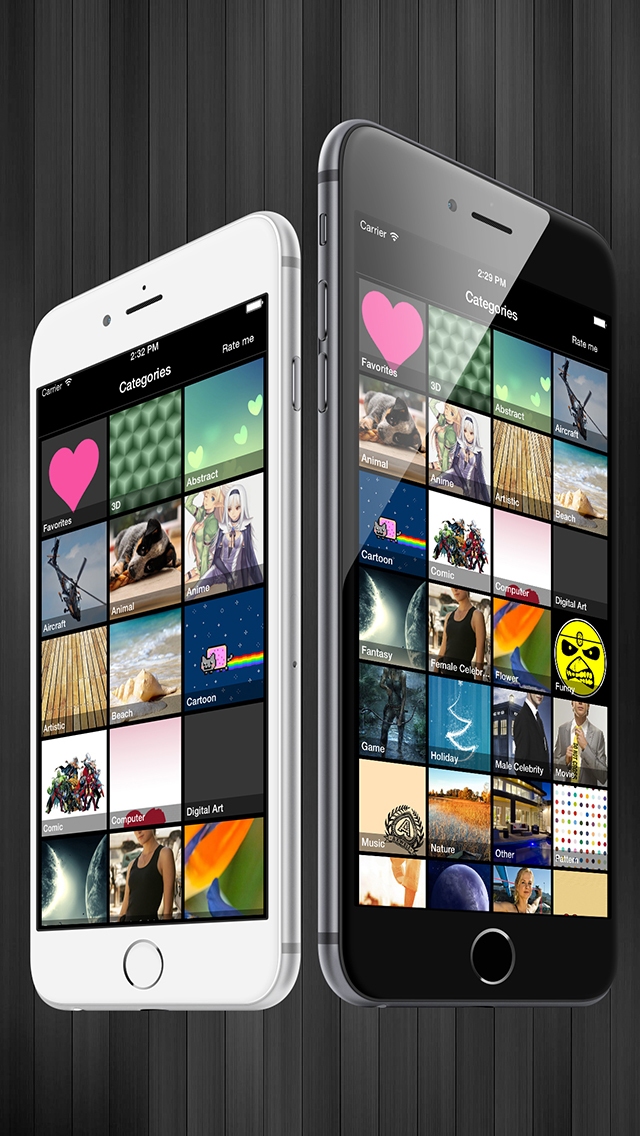 Wallpapers for iPhone 6s/Plus Pro screenshot 3