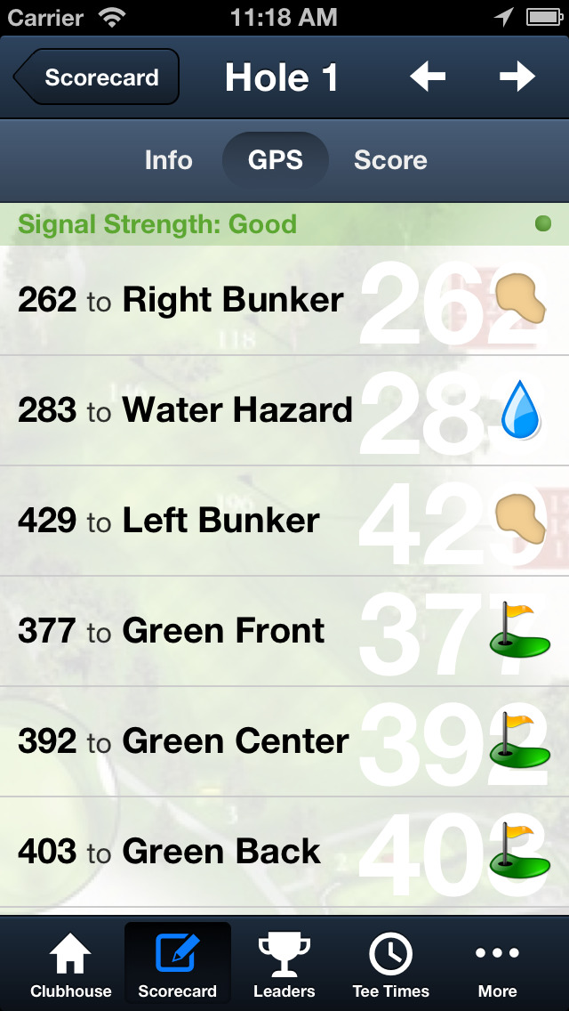 Oak Hills Park Golf Course screenshot 4