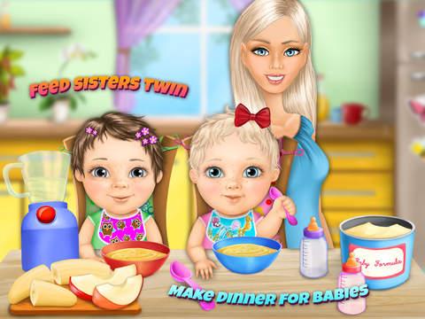 Sweet Baby Girl Twin Sisters screenshot 8