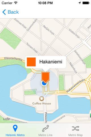 Helsinki iMetro - náhled