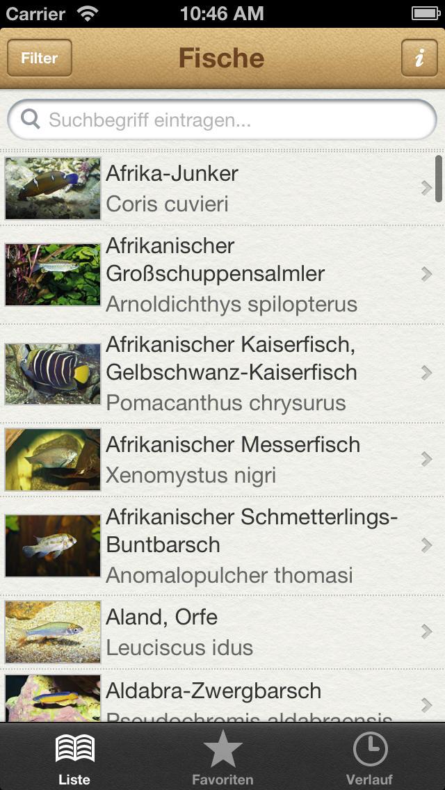 1000 Fische aus aller Welt screenshot 1