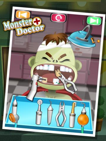 Monster Doctor - kids games screenshot 6