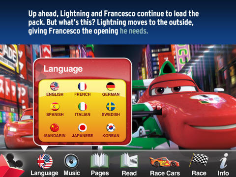 Cars 2 World Grand Prix Read and Race screenshot 7