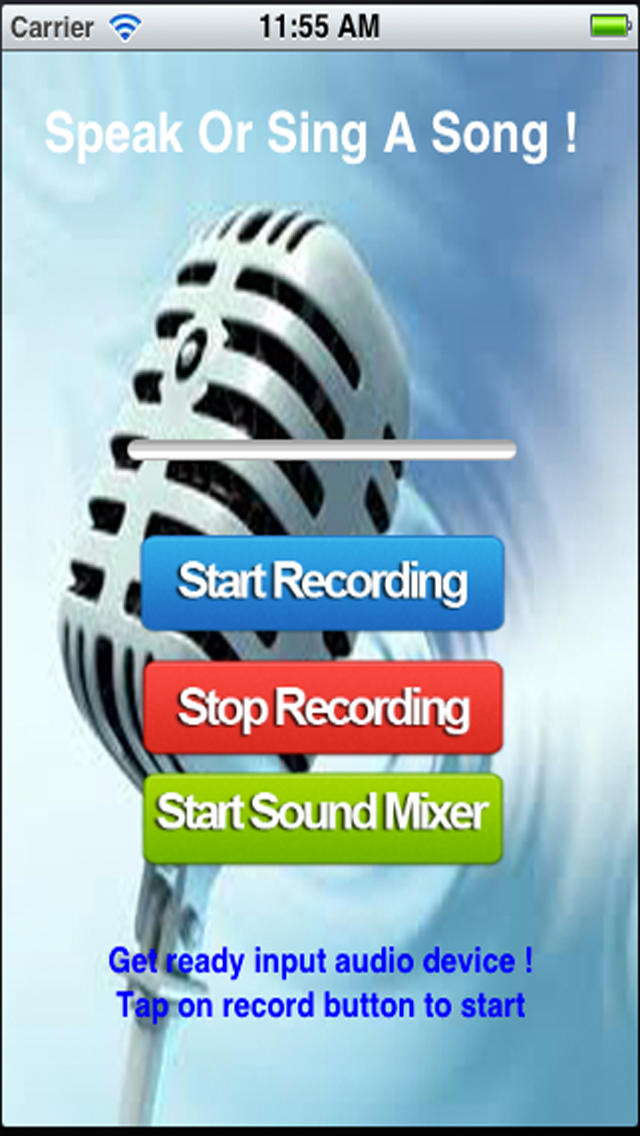 Funny Sound and Music Mixer.Funny Voice Mixer.Turn your speech or song into funny sound. screenshot 2