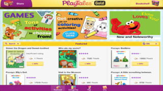 PlayTales Gold! Kids' Books screenshot 1