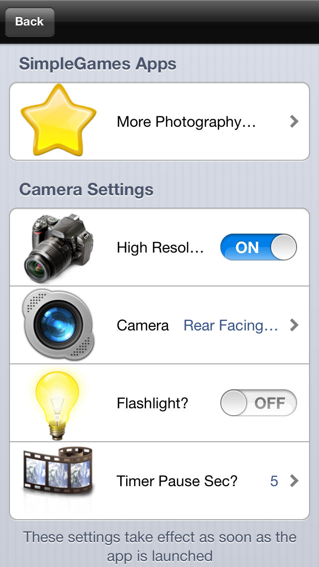 RecordCam - One Tap on Screen To Capture Photos screenshot 5