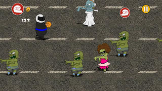 Awesome Zombies vs. Crazy Thanks Heroes screenshot 3