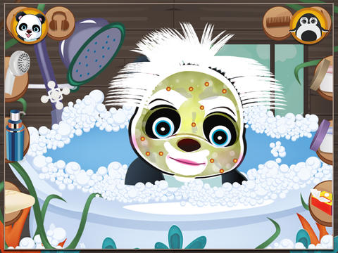 Panda & Penguin Hair Salon screenshot 8
