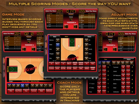 iScore Basketball Scorekeeper screenshot 2