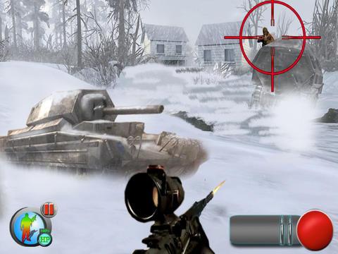 Arctic Assault (17+) : Sniper vs Sniper screenshot 5