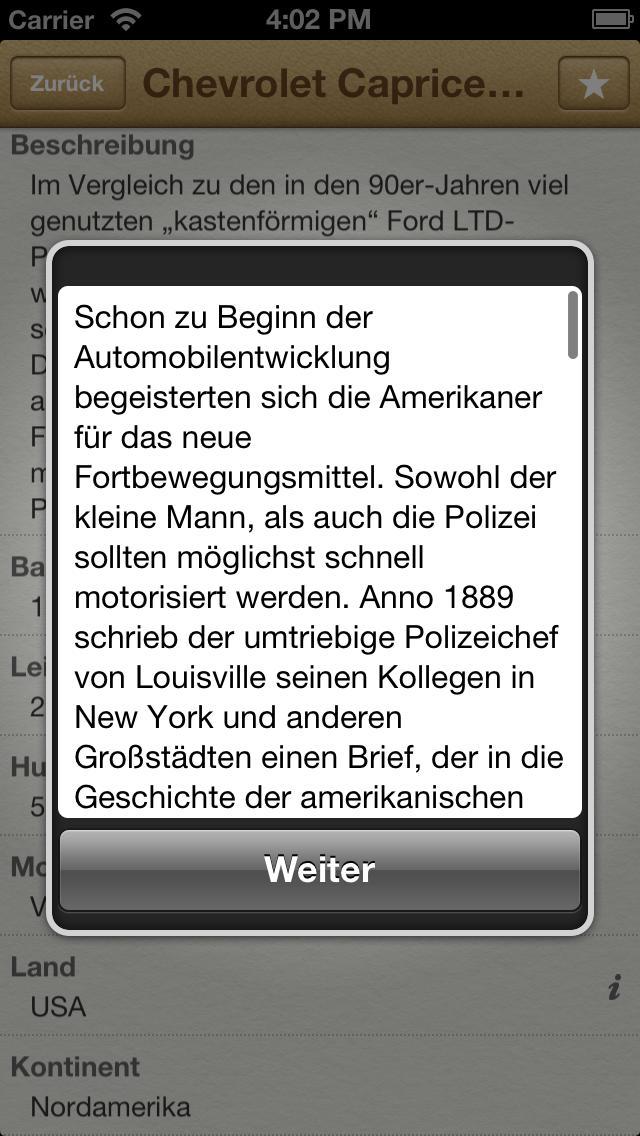 1000 Polizeifahrzeuge aus aller Welt screenshot 3
