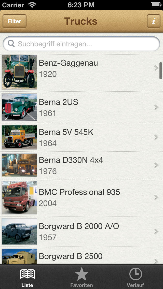 1000 Trucks aus aller Welt screenshot 1