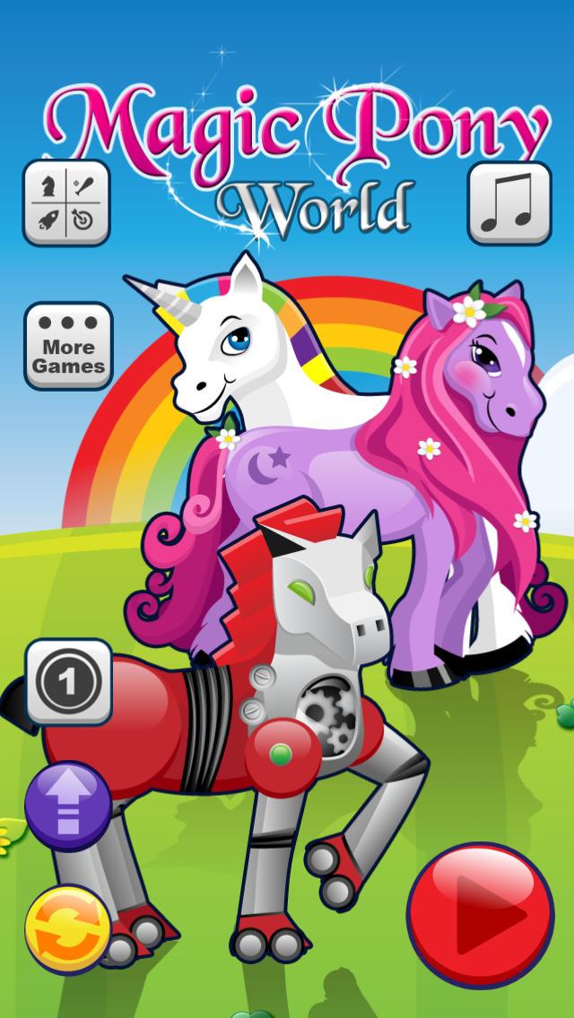 Magic Pony World - Full Version screenshot 1