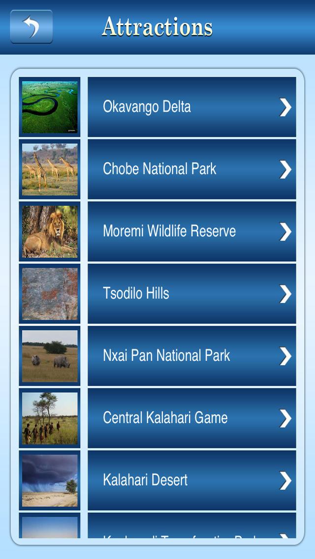 Moremi Game Reserve Travel Guide screenshot 3